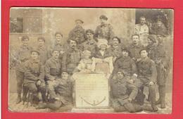 PHOTOGRAPHIE HONNEUR A LA CLASSE 1915 GLOIRE AU 26e CHASSEURS ALPINS SOLDAT MENARD DE NOGENT LE ROTROU - Guerre, Militaire