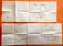 CANAL ALBERT KANAAL Ca©1930 HERSTAL HACCOURT LANAYE GEER-MEUSE VROENHOVEN EIGENBILZEN Boot Bateau Navigation AAK R424 - Cartes Topographiques