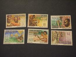 PAPUA - 1974 PITTORICA 6 VALORI - NUOVI(++) - Papua Nuova Guinea