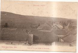 Vue Du Village Prise Du Clocher - Coussey