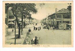 CPA.Cambodge. Phnom-Penh. La Rue Ohier.  (F.62) - Cambodge