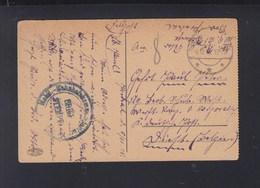 Dt. Reich Besetzung Rumänien Romania AK Bukarest Feldpost 1918 - Occupation 1914-18