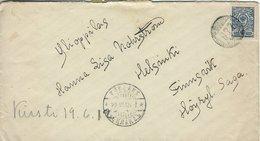 Finland - Cover Used 1912     H-1518 - Brieven En Documenten