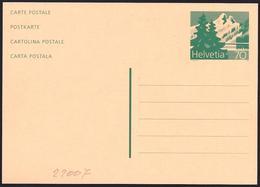 Svizzera/Switzerland/Suisse: Intero, Stationery, Entier, Montagna, Mountain, Montagne - Geologia