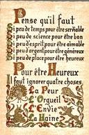 CP Le Lac - Lamartine - Philosophie & Pensées