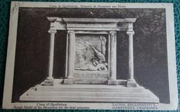 Cpa - Souvenir De Captivité 1917 - Camp De Quedlinburg - Maquette Du Monument Aux Morts A Choquet 25 7 1917 - Guerre 1914-18