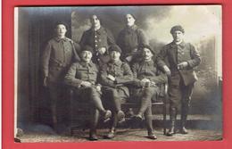 PHOTOGRAPHIE 1919 METZ SOLDATS DU 26e CHASSEURS A PIED D EURE ET LOIR  PHOTOGRAPHE BENSEMANN 2 RUE DU PALAIS A METZ - Guerre, Militaire