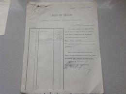 Wohlen Manufacture De Tresses Pour Chapeaux Dreifuss Frères 1929 - Switzerland