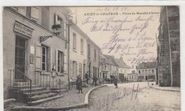 02-  Anizy Le Chateau Place Du Marche D Hiver - Frankrijk