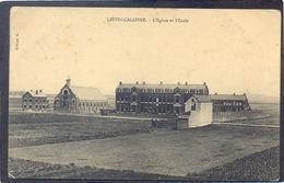 LIÉVIN-CALONNE - L'Eglise Et L'Ecole - Lievin