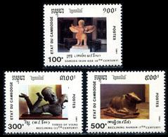 1991 Cambodia (3) Set - Cambodia
