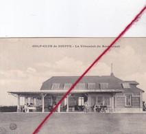CP 76   -  DIEPPE -   GOLF-CLUB   - La Véranda  Du Restaurant - Dieppe