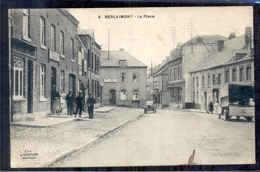 Frankrijk France - Berlaimont - La Place - Cafe Poete L Place - 1920 - France