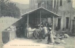 SANREMO - AL LAVATOIO DELLA CITTÀ VECCHIA ~ AN OLD POSTCARD #92356 - San Remo
