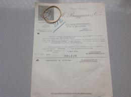 Wohlen Société Anonyme Bruggisser Facture 1938 - Suisse