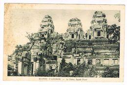 CPA.Cambodge. Angkor . Les Ruines Le Takeo.        (F.66) - Cambodge