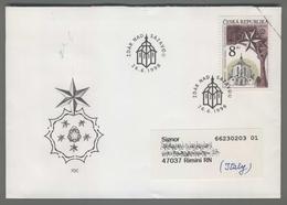 C4148 Ceska Republika FDC 1996 UNESCO J.R. SANTINI ZELENA HORA POUTNI KOSTEL 8 KC ZDAR NAD SAZAVOU VG - FDC