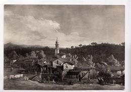 MILANO, Pinacoteca Di Brera, Bernardo Bellotto, Veduta Della Gazzada,  Unused Real Photo, Vera Fotografia Postcard[23058 - Paintings