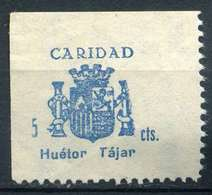 ESPAÑA. GUERRA CIVIL. HUÉTOR-TÁJAR. EDIFIL Nº6 - Emisiones Repúblicanas