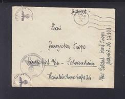 Dr. Reich Feldpost 1942 Holland FP. 32101 - Deutschland