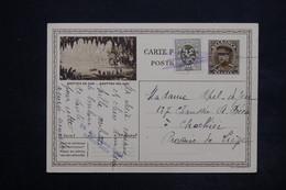 BELGIQUE - Entier Postal + Complément ( Annulation Plume ) Pour Liège - L 25080 - Entiers Postaux