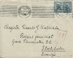 Finland - Cover Used 1919. Opened By Censor?    H-1521 - Finland