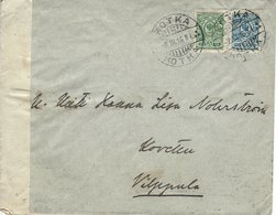 Finland - Cover Used 1916. Opened By Censor.    H-1522 - Covers & Documents