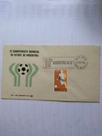 Mexico Two Fdc Of 3 Football Cup 1978 Argentina - Coppa Del Mondo