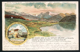 AK/CP Litho  St. Valentin   Tirol    Gel./circ. 1903  Erhaltung/Cond.  2   Nr. 00641 - St. Valentin