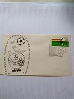 Mexico There Fdc Of 3 Football Cup 1982 España - Coppa Del Mondo