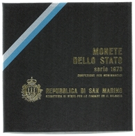 1973 - San Marino - Divisionale - Saint-Marin