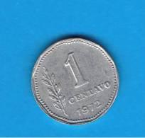 ARGENTINA - 1 Centavo 1972  KM64 - Argentine
