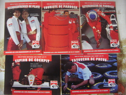 Automobile - Voiture : Lot 8 Cartes Publicitaires Marlboro Pour Le GP De Francorchamps 1994 - Métiers De La F1 - FERRARI - Grand Prix / F1