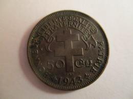 Madagascar: 50 Centimes 1943 - France Libre - Madagascar