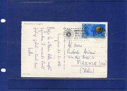 ##(DAN194)-Postal History-Switzerland 1954-World Soccer Championship In Switzerland Stamp And Special Cancel On Postcard - Coppa Del Mondo