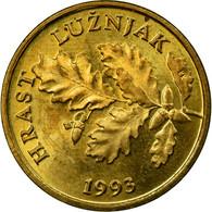 Monnaie, Croatie, 5 Lipa, 1993, SUP, Brass Plated Steel, KM:5 - Croatia