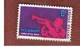 STATI UNITI (U.S.A.) - SG 1359  - 1969   W.C. HANDY, JAZZ, COMPOSER  - USED° - Stati Uniti