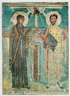 THESSALONIKI  THE  VIRGIN  MARY WITH   S. THEODORE   MOSAIC       (VIAGGIATA) - Gibilterra