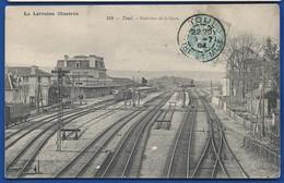 TOUL    Intérieur De La Gare     écrite En 1904 - Toul