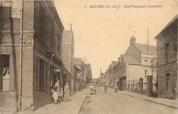 BOLBEC - Rue Fauquet-Lemaître. (un Coiffeur) - Bolbec