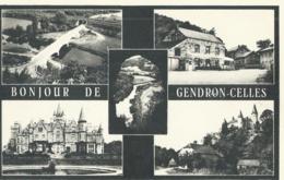 Gendron-Celles - Bonjour De Gendron-Celles - Edition Closset-Lambot, Café De La Gare - Houyet