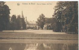 Anhée - Château De Bioul - Vue Du Château, Côté Parc - Anhée