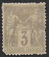 FRANCE  1878  -  YT  86 -  Sage  3f  -  Neuf Charnière - 3° Choix - 1876-1878 Sage (Type I)