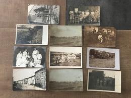 Lot De 11 Cartes Photos - Cartes Postales