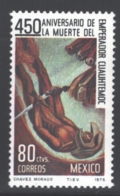 Mexico - Mexique 1975 Yvert 825, 450th Anniversary Of The Death Of Cuauhtemoc, Last Of The Aztec Emperors - MNH - Mexique