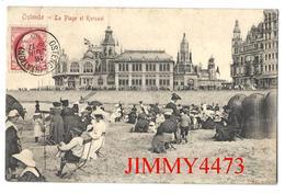 CPA Postkaart - Le Kursaal Et La Plage Bien Animée En 1906 - OSTENDE Flandre Occidentale - Edit.39 C.T.C.A. Recto-Verso - Oostende
