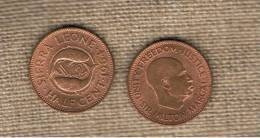SIERRA LEONE - 1/2 Cent 1964  KM16 - Sierra Leone