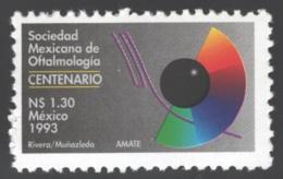 Mexico - Mexique 1993 Yvert 1457, Centenary Of The Mexican Society Of Ophthalmology - MNH - México