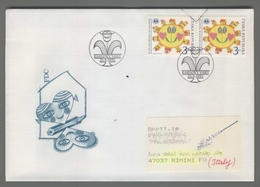 C4175 Ceska Republika FDC 1995 25 LET SOS DETSKYCH VESNICEK KARLOVY VARY 3 KC VG - FDC