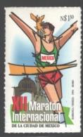 Mexico - Mexique 1994 Yvert 1561A, 12th Mexico International Marathon - Runner - MNH - México